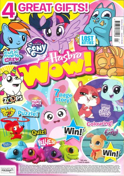 Hasbro Wow magazine