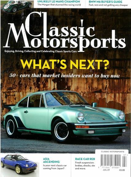 Classic Motorsports magazine