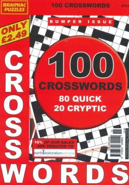 Brainiac Crosswords magazine
