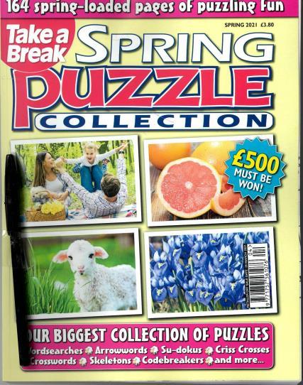Take A Break Seasonal Puzzle Collection magazine