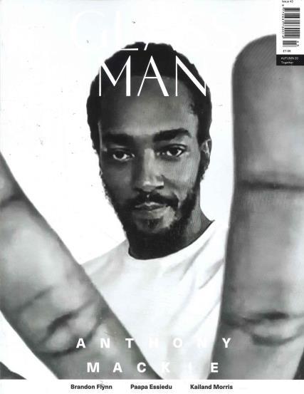 Glass Man magazine