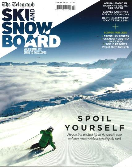 Ski and Snowboard- The Telegraph magazine
