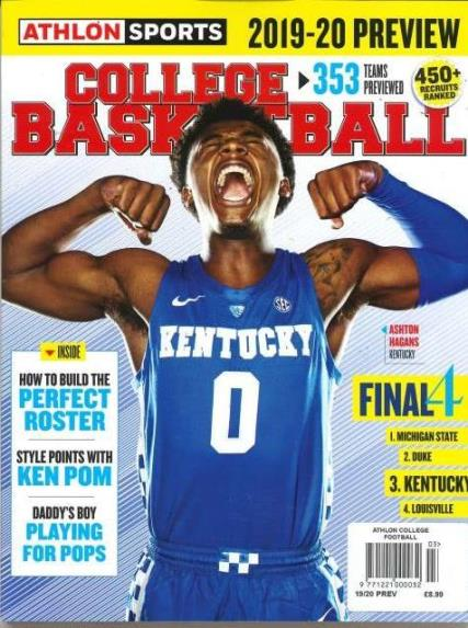 Athlon College Basketball- 03 magazine