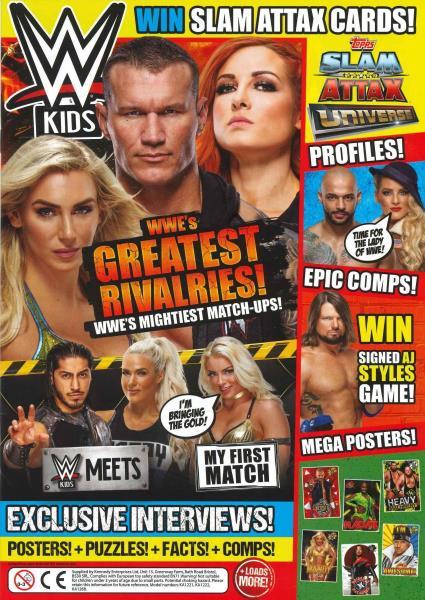 WWE Kids - 52 magazine