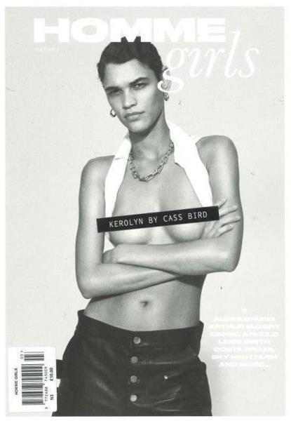 Homme Girls magazine
