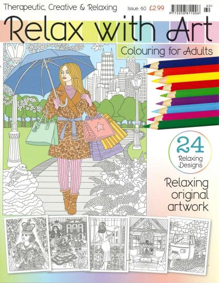Relax With Art - 60 magazine