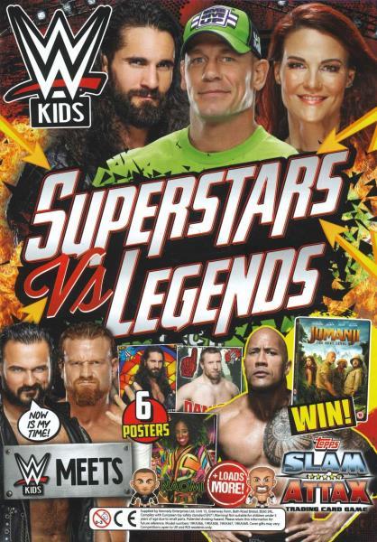WWE Kids - 55 magazine