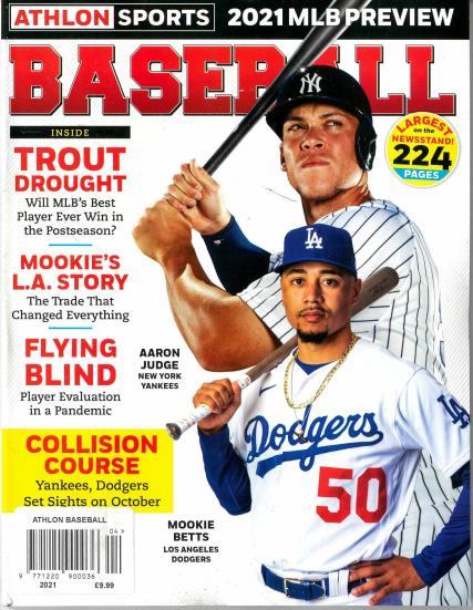 Athlon Baseball 2021 MLB Preview magazine