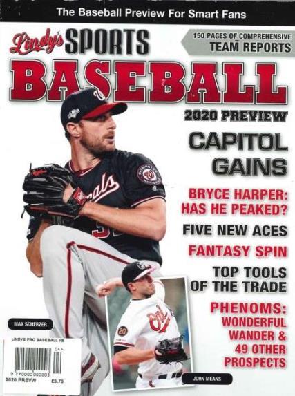 Lindys Pro Baseball 2020 magazine