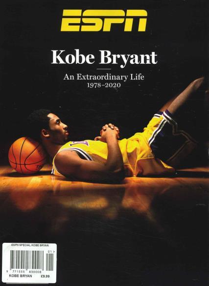 ESPN Special Kobe Bryant magazine