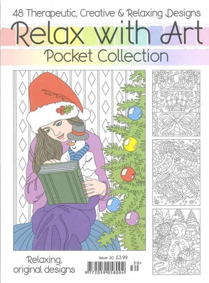 Relax with Art Pocket Collection Issue 30 magazine