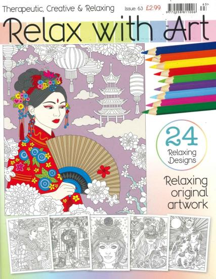 Relax with Art Issue 63 magazine