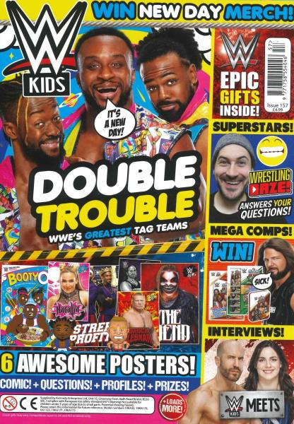 WWE Kids Issue 57 magazine