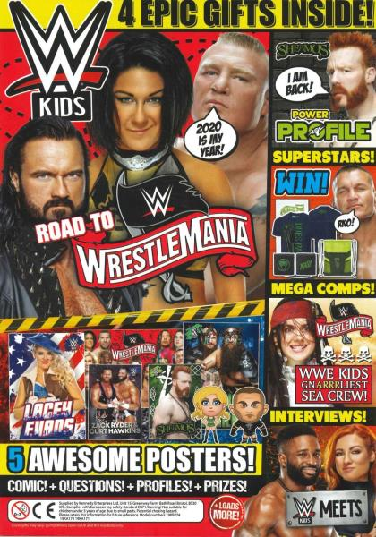 WWE Kids Issue 58 magazine