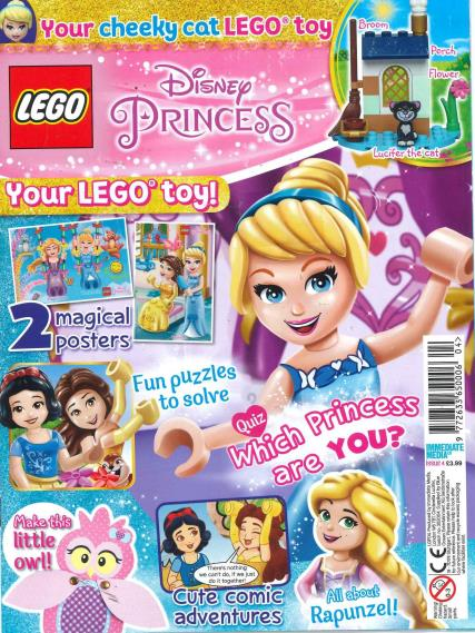 Lego Disney Princess magazine