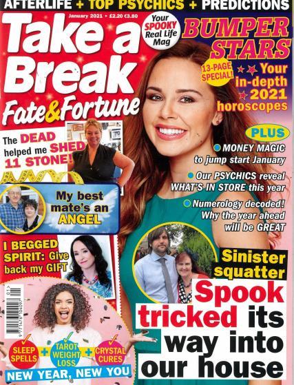 Take a Break Fate and Fortune magazine