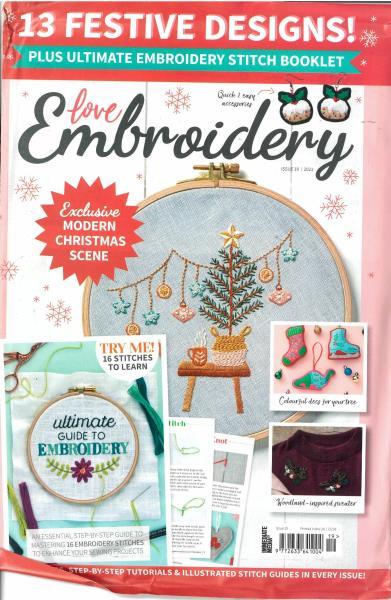 Love Embroidery magazine