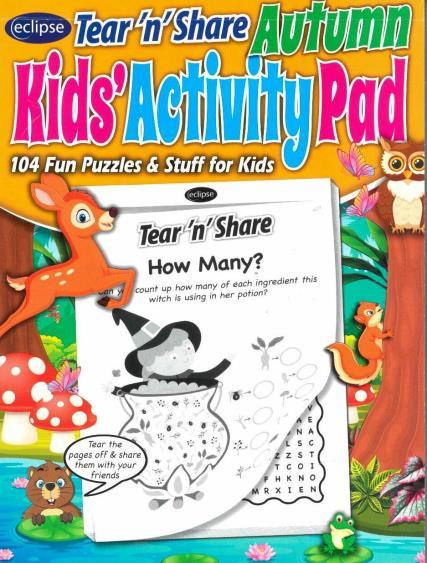 Eclipse Tear'n'Share Kids Activity Pad magazine