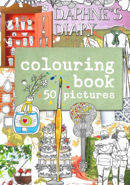 Daphne's Diary Colouring Book magazine