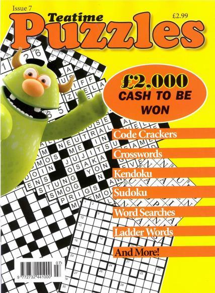 Teatime Puzzles magazine