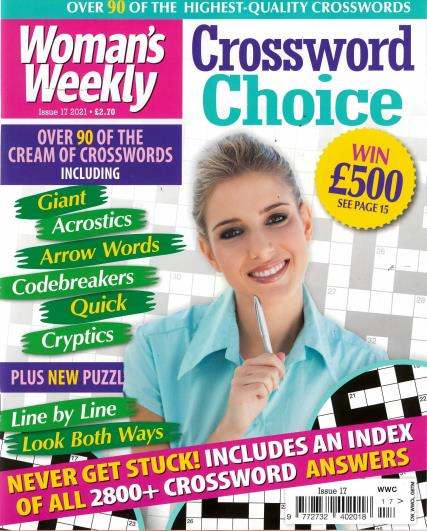 Woman's Weekly Crossword Choice magazine