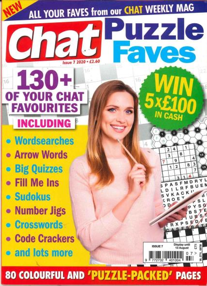 Chat Puzzle Faves magazine