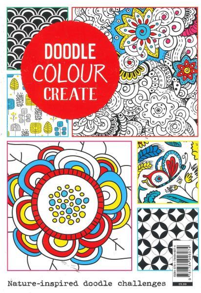 Doodle Colour Create magazine