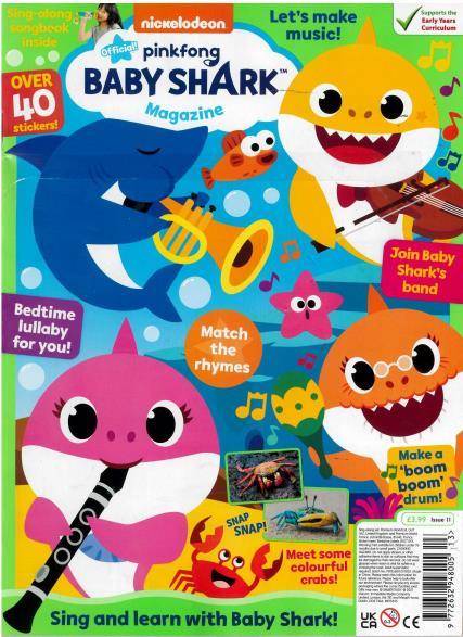 Baby Shark Magazine magazine