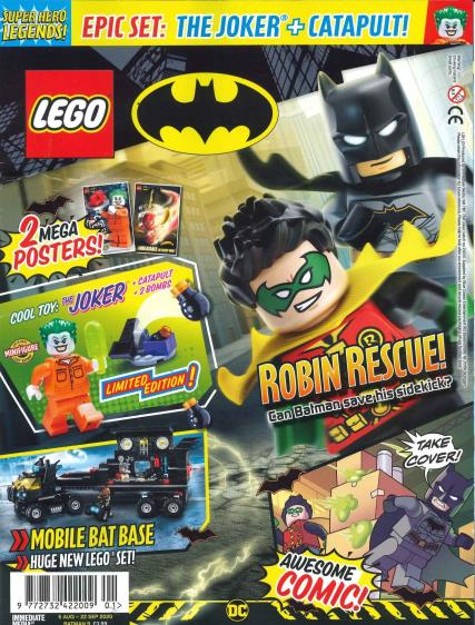 Lego Superhero Legends magazine