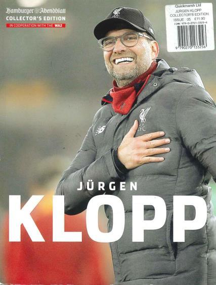Jurgen Klopp Collectors Edition magazine