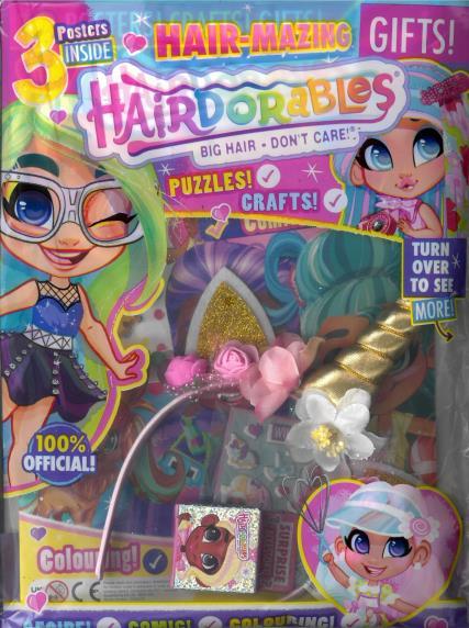 Hairdorables magazine
