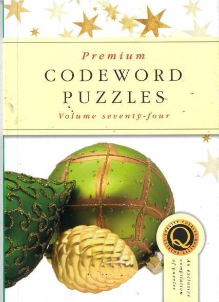 Premium Codeword Puzzles magazine