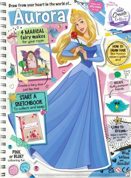 Disney Princess Create and Collect magazine