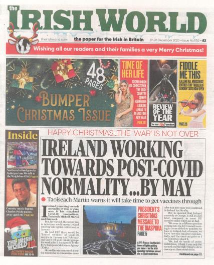 Irish World magazine
