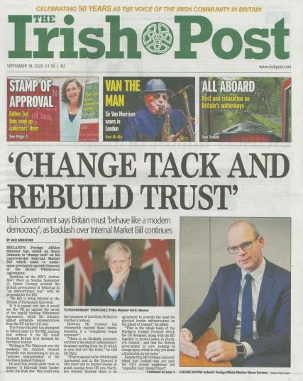Irish Post magazine