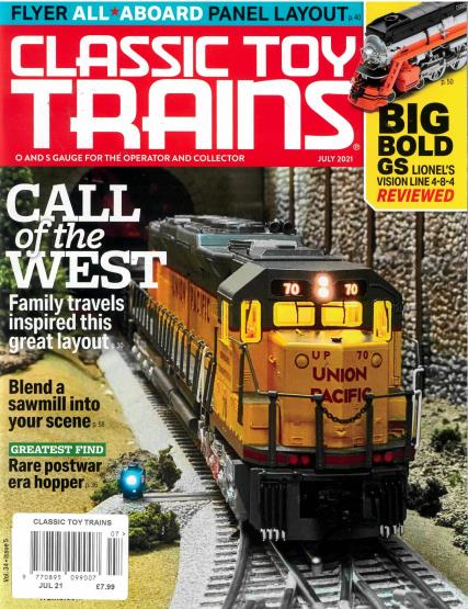 Classic Toy Trains magazine