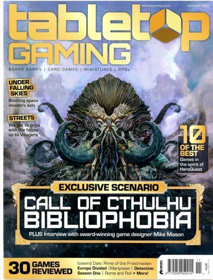 Tabletop Gaming magazine