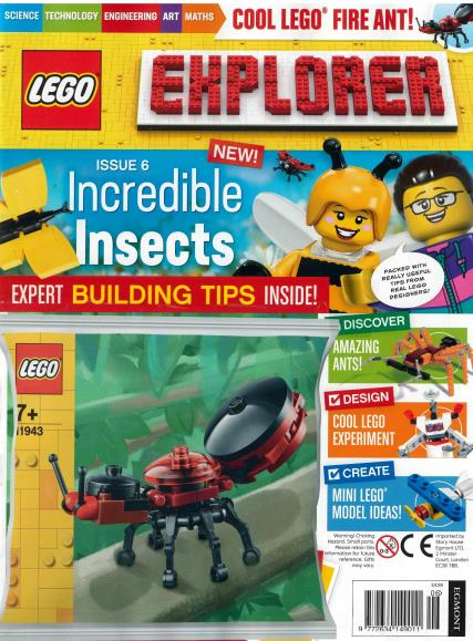 Lego Explorer magazine