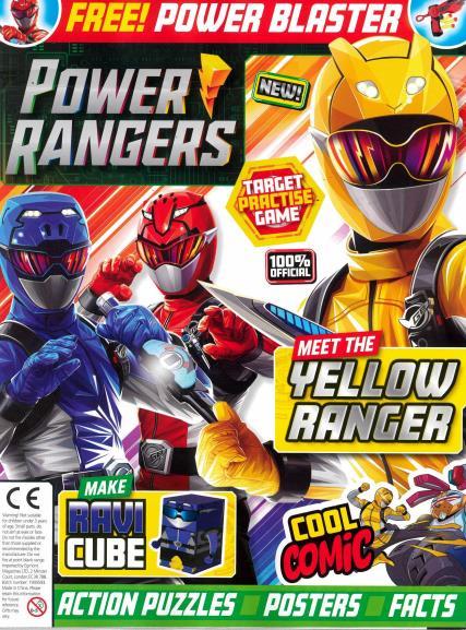 Power Rangers magazine