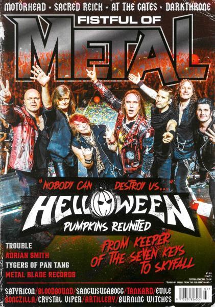 Fistful of Metal magazine