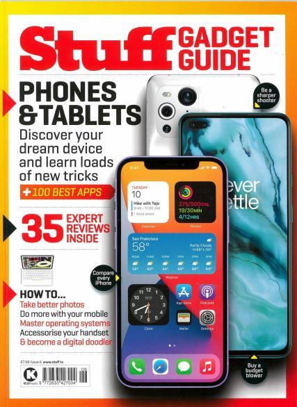 Stuff Gadget Guide magazine