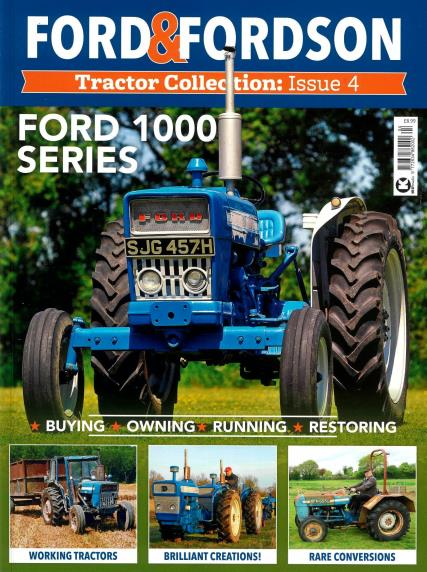 Ford Fordson Tractor Collection magazine