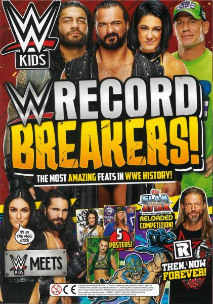 WWE Kids Issue 64 magazine