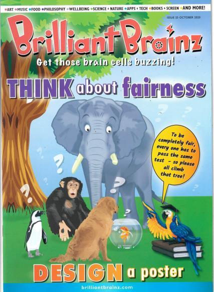 Brilliant Brainz Issue 25 magazine
