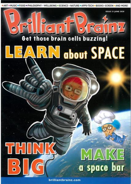 Brilliant Brainz Issue 21 magazine
