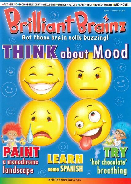 Brilliant Brainz Issue 17 magazine