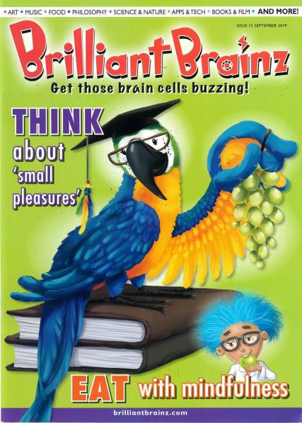 Brilliant Brainz Issue 12 magazine