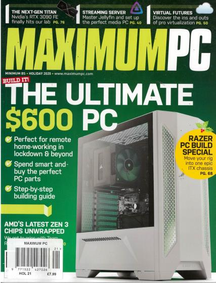 Maximum PC magazine
