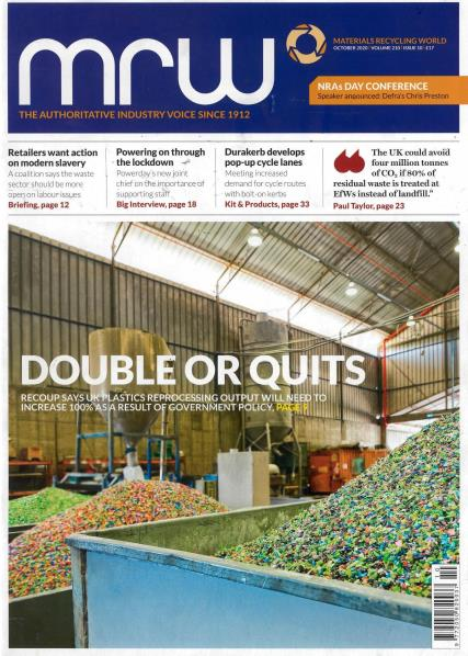 Materials Recycling World magazine