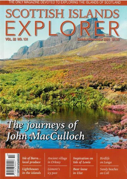 Scottish Islands Explorer magazine